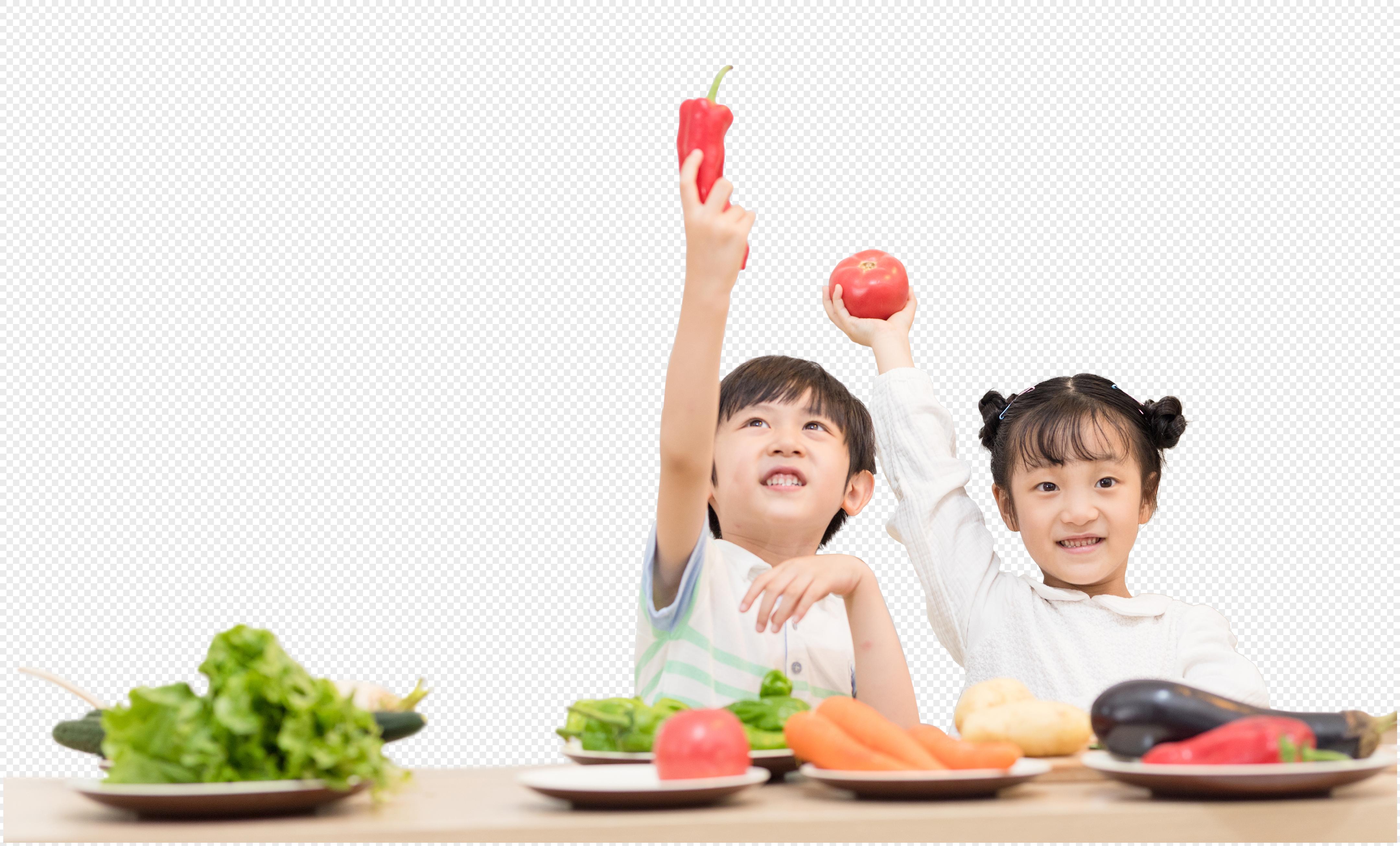 Chế độ dinh dưỡng cân bằng là nền tảng quan trọng để bé phát triển toàn diện Nguồn ảnh: lovepik.com