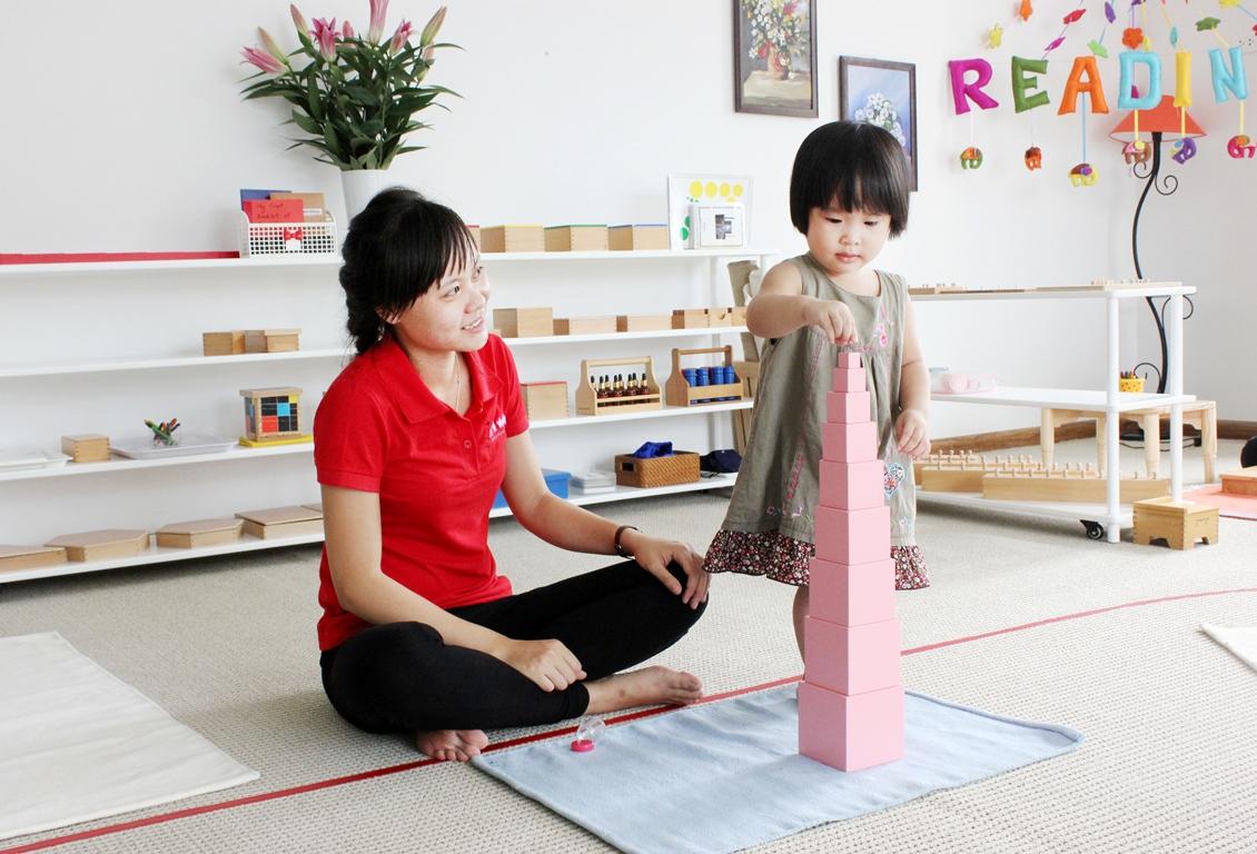 Để trở thành giáo viên Montessori, bạn cần qua đào tạo và có chứng chỉ Nguồn: blogspot.com