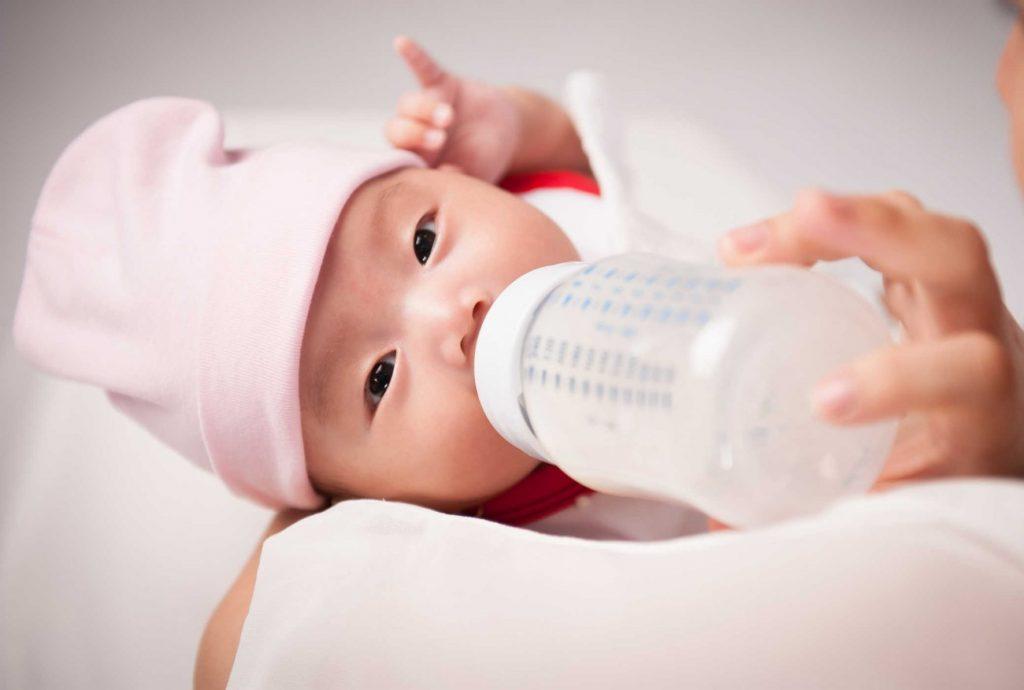 Có nhiều loại sữa khác nhau theo từng độ tuổi, nhu cầu dinh dưỡng của trẻ Nguồn: bibomart.com.vn