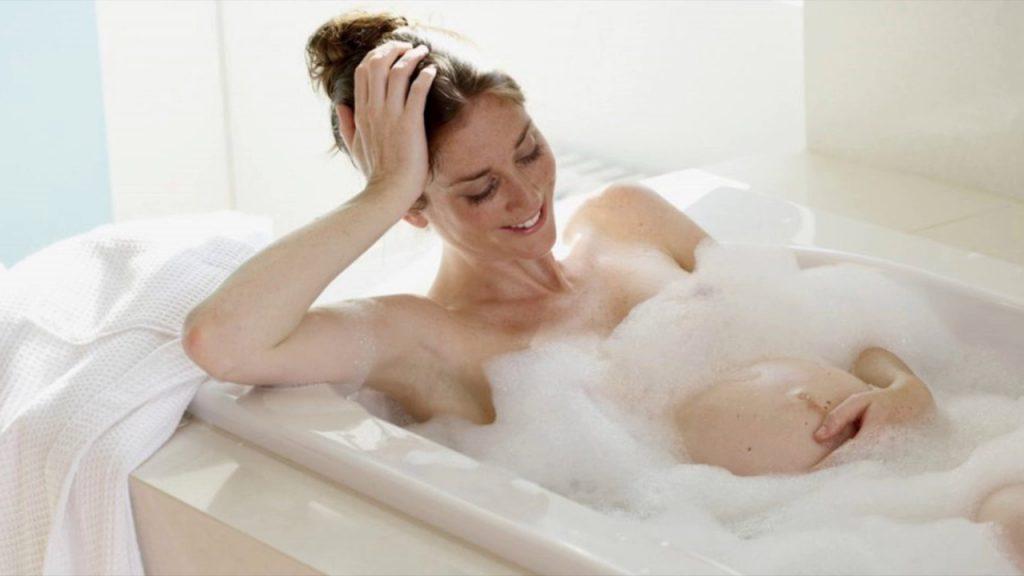 Mẹ bầu nên sử dụng sữa tắm như thế nào?