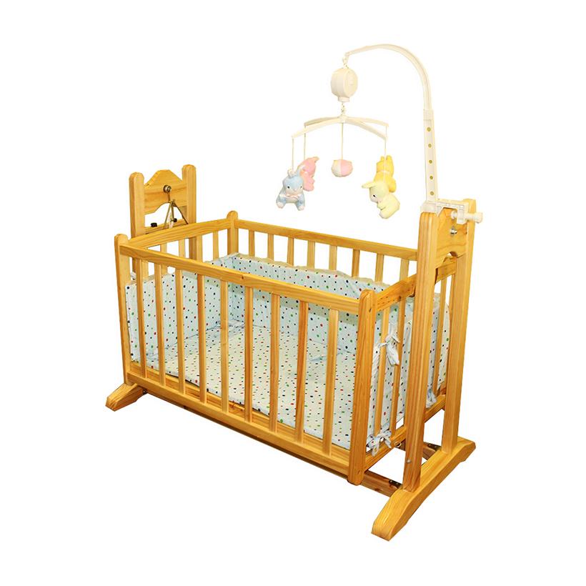 Giường cũi - nôi đa năng Vinanoi thiết kế rộng rãi thoải mái cho bé chơi đùa