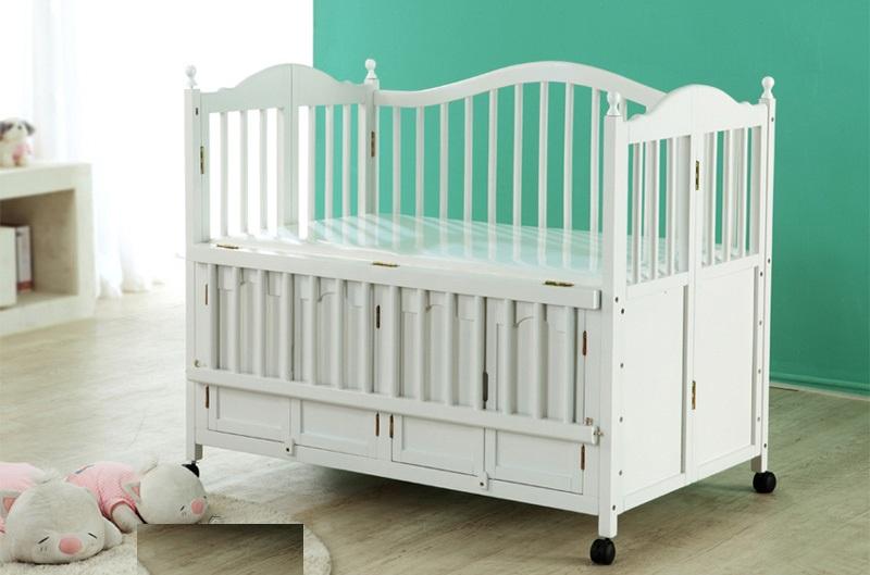 Giường cũi đa năng Andy là sự kết hợp hoàn hảo giữa cũi và giường em bé