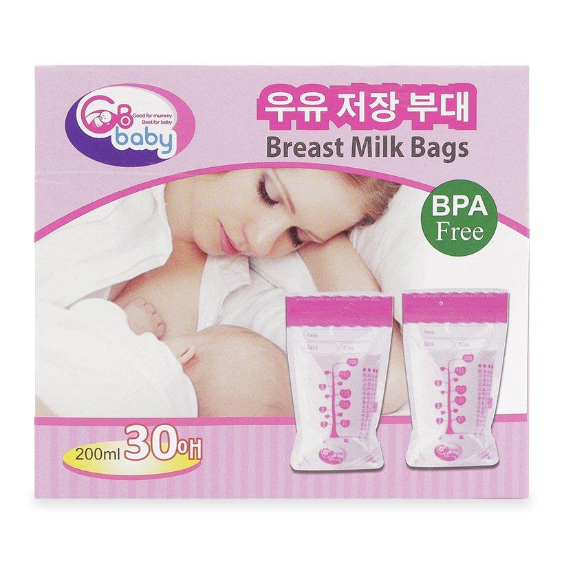 Túi đựng sữa GB Baby Hàn Quốc rất tiện dụng