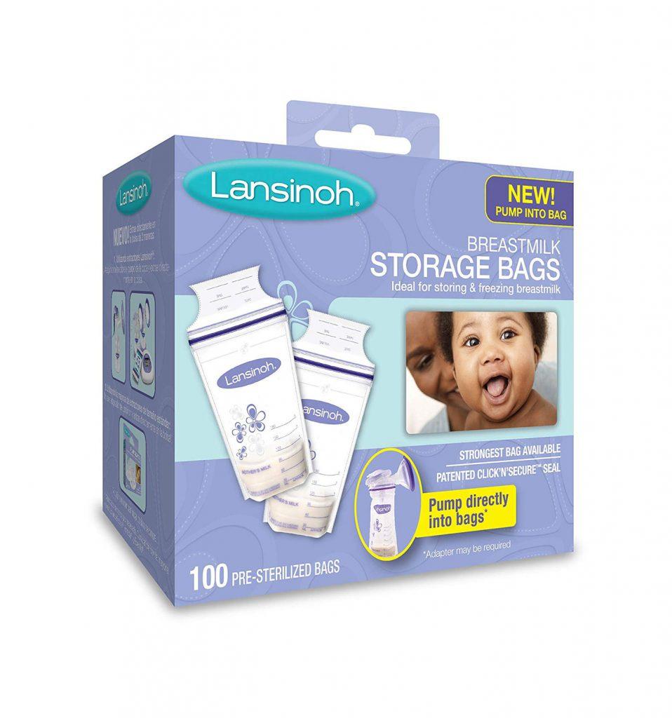 Túi trữ sữa Lansinoh được rất nhiều mẹ tin tưởng chọn mua