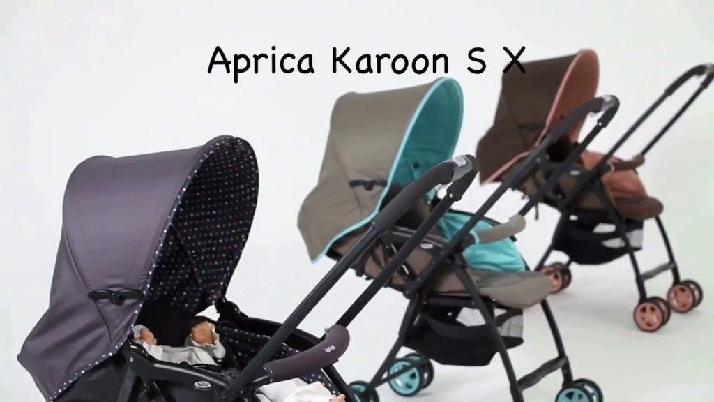 Xe đẩy Aprica Karoon SX được nhiều mẹ Việt tin tưởng lựa chọn